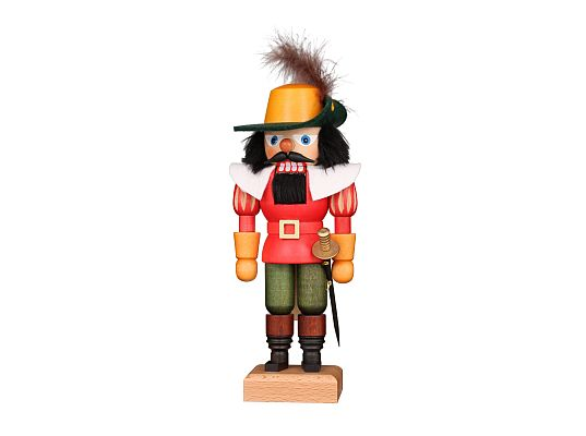 Ulbricht - Nutcracker Musketeer Red (with video)