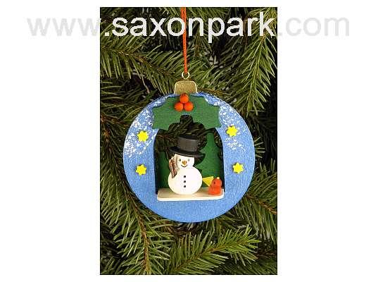 Ulbricht - Christmas Ball With Snowman Ornament
