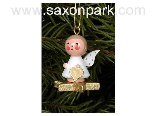 Ulbricht - Angel On Star Ornament