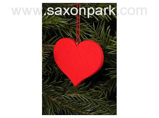 Ulbricht - Heart Red Ornament