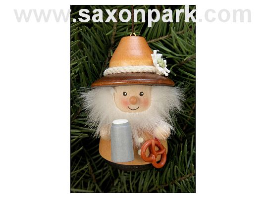 Ulbricht - Wobble Figure Bavarian Natural Ornament