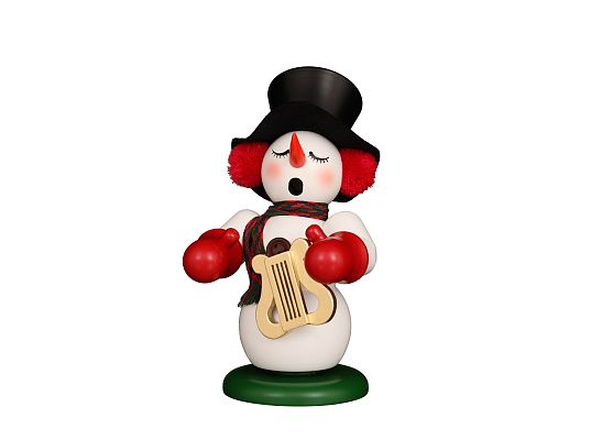 Ulbricht - Smoker Snowman With Lyre (available from April)