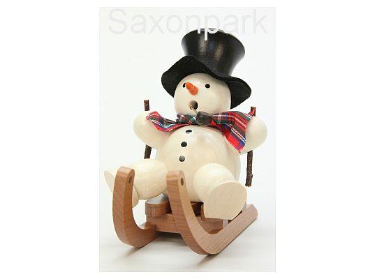 Ulbricht - smoker Snowman On Sledge