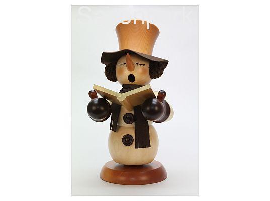 Ulbricht - smoker Singing Snowman Natural