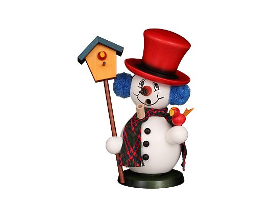 Ulbricht - Smoker Snowman With Aviary
