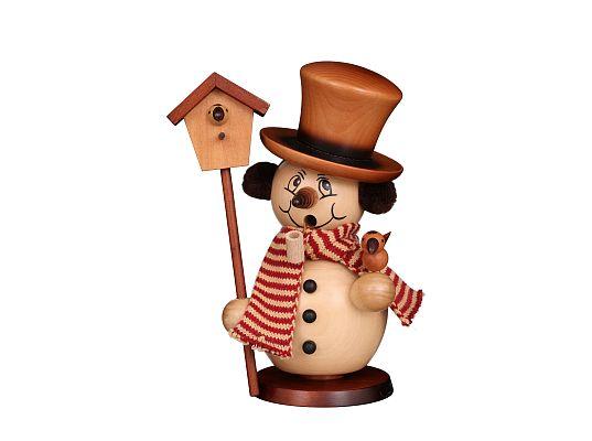 Ulbricht - Smoker Snowman With Aviary Natural