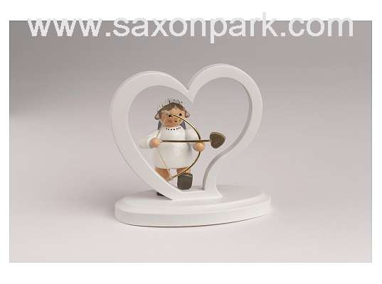 KWO - Angel alphabet Heart with Cupid