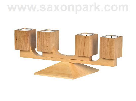 KWO - candleholder Varius oak nature