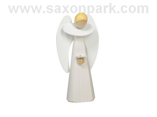 KWO - Wooden figurine - Angel, white