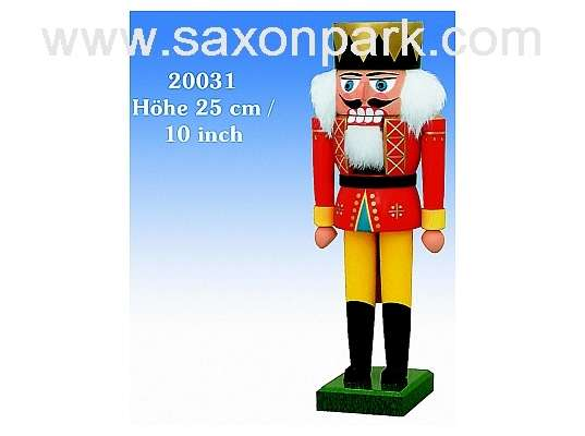 KWO - Christmas Nutcracker king, 25cm