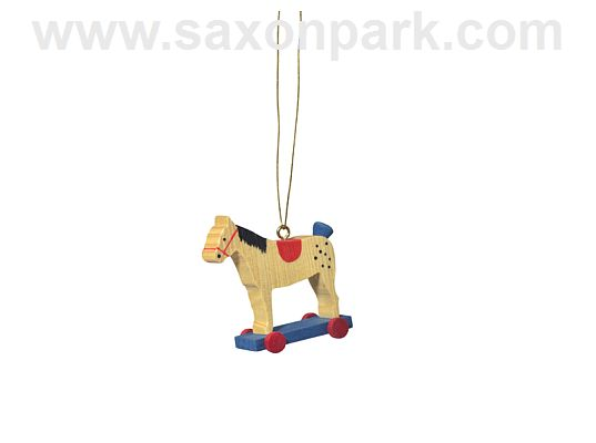 KWO - Ornament Horse red