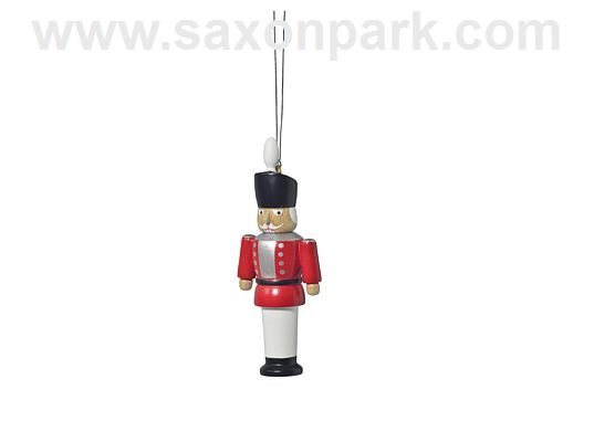 KWO - Ornament Nutcracker red