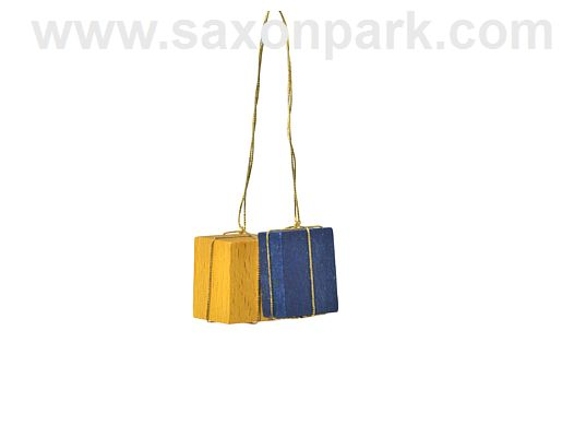 KWO - Ornament Packages yellow/blue