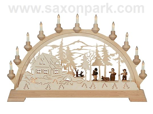 KWO - Christmas Archway - Foresters house