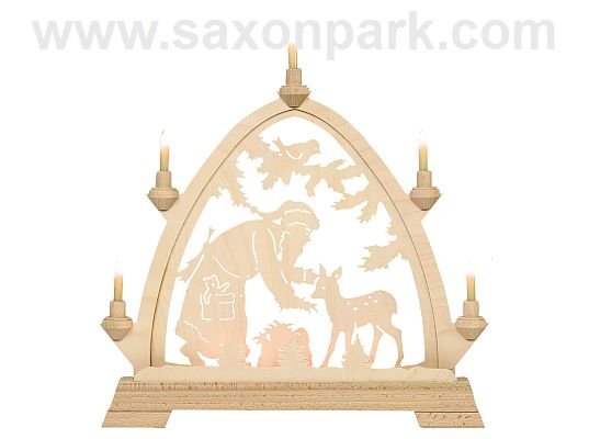 KWO - Gothic Arch Santa with roe deer