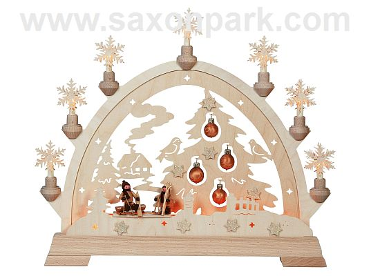 KWO - Christmas Archway - Fir tree with glass