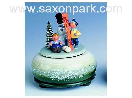 KWO - Music Box,small - Winter Ski