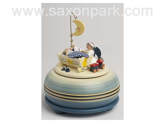 KWO - Music box, small - Goodnight, blue