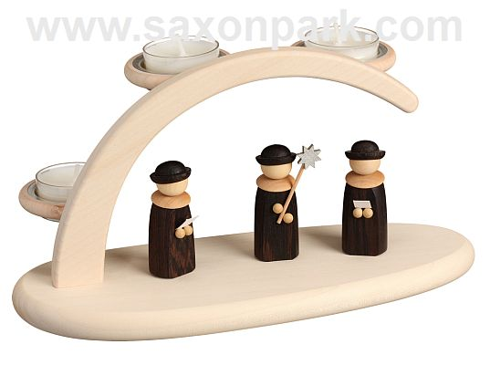 Seiffen Handcraft - Candle Arch Light Arch,with Christmas Choir