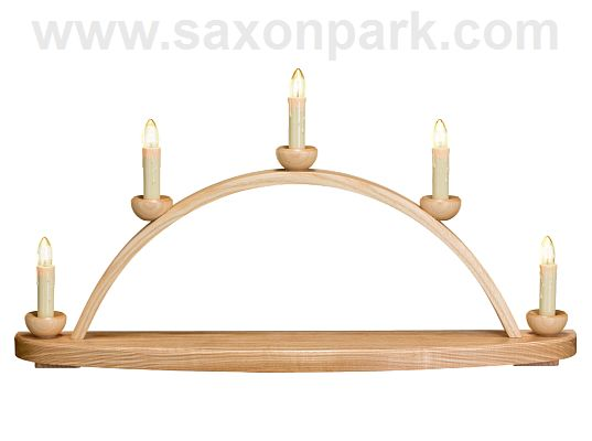 Seiffen Handcraft - Candle Arch Candle Arch (without Decoration)