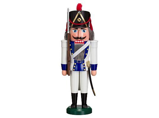 Seiffen Handcraft - Nutcracker Historic Infantryman blue
