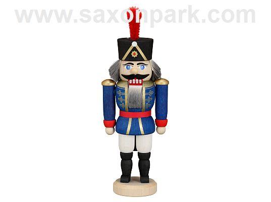 Seiffen Handcraft - Nutcracker Hussar blue