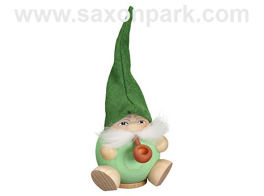 Seiffen Handcraft - Ball-shaped incense Figure Fragrant Gnome - Mint