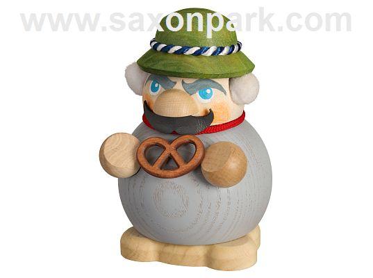 Seiffen Handcraft - Ball-shaped Nutcracker Bavarian