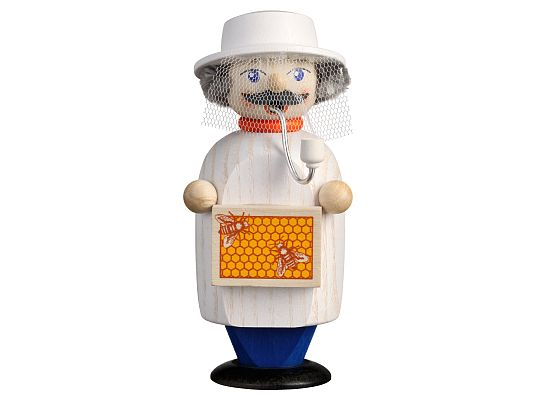 Seiffen Handcraft - Incense Figure Beekeeper