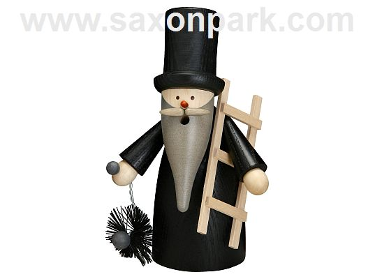 Seiffen Handcraft - Incense Figure Chimney Sweep Gnome