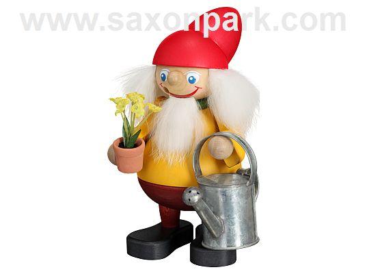 Seiffen Handcraft - Incense Figure Garden Brownie