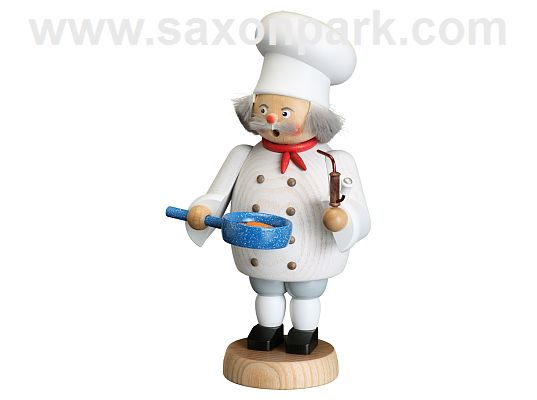 Seiffen Handcraft - Incense Figure Chef