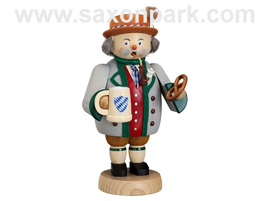 Seiffen Handcraft - Incense Figure Bavarian