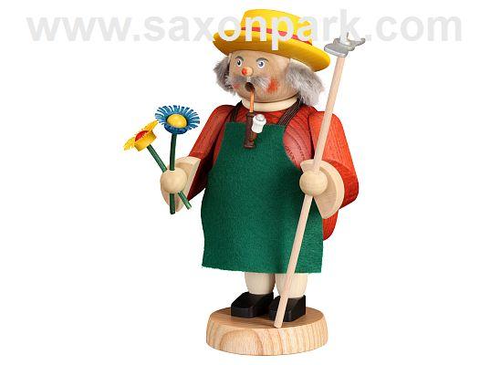 Seiffen Handcraft - Incense Figure Gardener