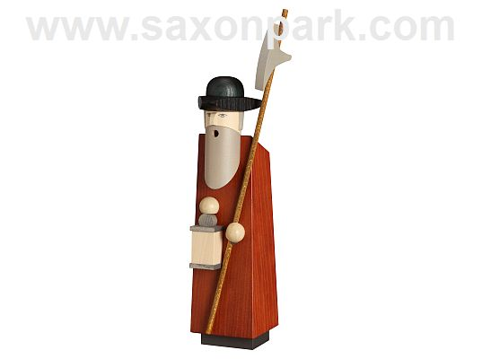 Seiffen Handcraft - Incense Figure Night Watchman, Limited and Certified!