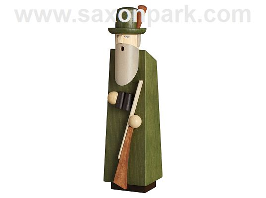 Seiffen Handcraft - Incense Figure Hunter, Limited and Certified!