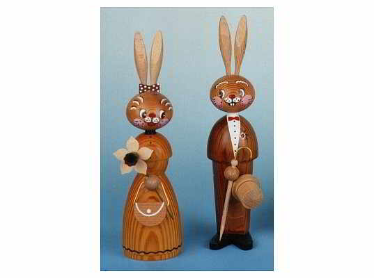Mothes - pair of easter bunnies