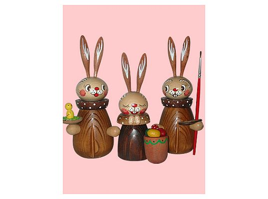 Mothes - Easter bunny family