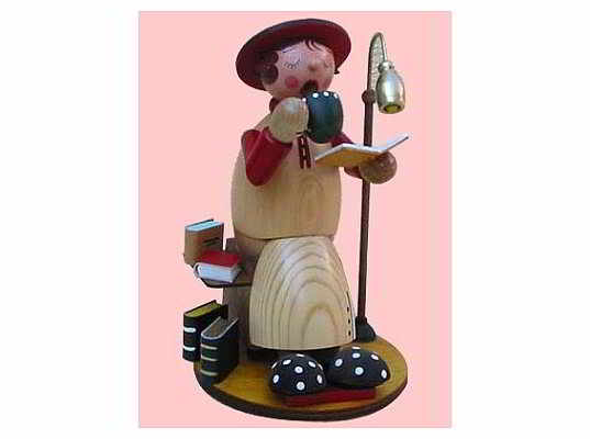 Mothes - incense smoker bookworm (with video)