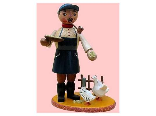 Mothes - incense smoker poultry farmers with 2 geese