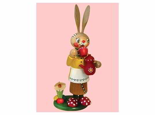 Mothes - incense smoker easter bunny femal