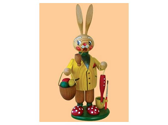 Mothes - incense smoker easter bunny man
