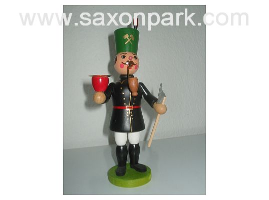 Mothes - incense smoker Miner with light holder