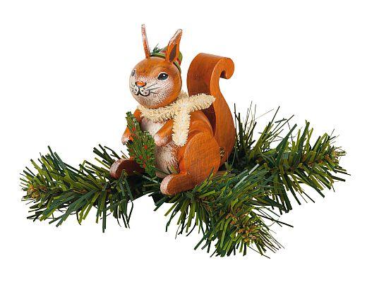 Hubrig - clip for a limb - squirrel
