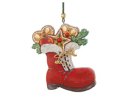 Hubrig - Tree Hangings Santas stocking (available from  April/May 2020)