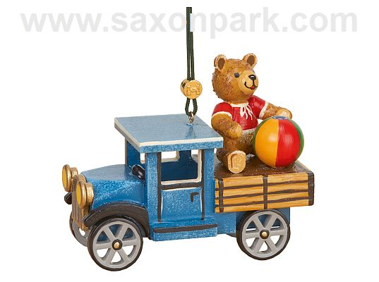 Hubrig - hanging lorry with teddy bear