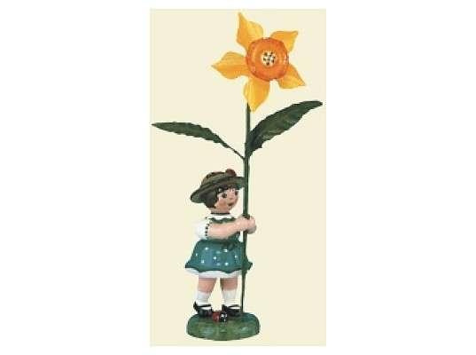Hubrig - Flower girl with Daffodil