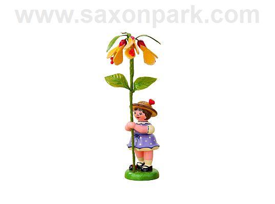 Hubrig - Flower girl with Abutilon