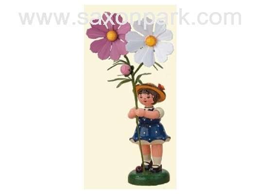 Hubrig - Flower girl with Cosmea