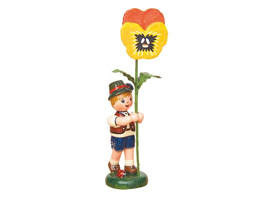 Hubrig - Flower boy with Pansy